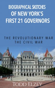 Cover image from Biographical Sketches of New York's First 21 Governors