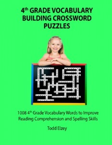 Cover image from 4th Grade Vocabulary Bulding Crossword Puzzles